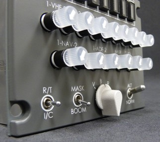 B737 Audio Selection Panel Pro2 (CP Flight ASP737PRO2)