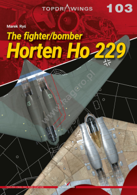 The fighter/bomber Horten Ho 229  9788366148970