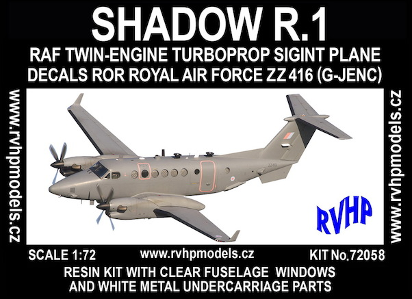 Hawker Beechcraft Shadow R1 (RAF SIGINT)  RVH72058