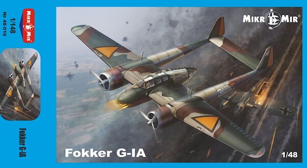 Fokker G1A (BACK IN  STOCK)  MM48-016