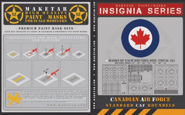 Canadian Air Force roundels (60)  MM32023