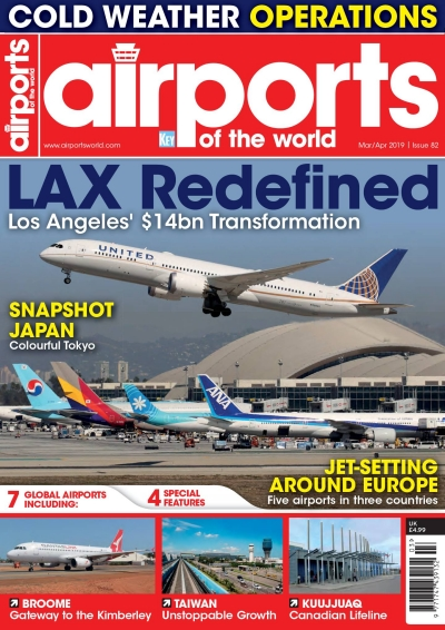 Airports of the world March/April 2019 issue 82  072527407707682