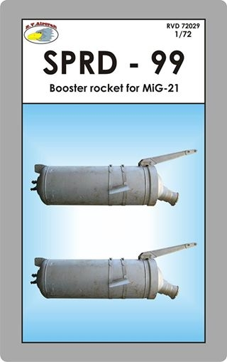 SPRD-99 RATO rocket for MiG-21 (2x)  RVD72029