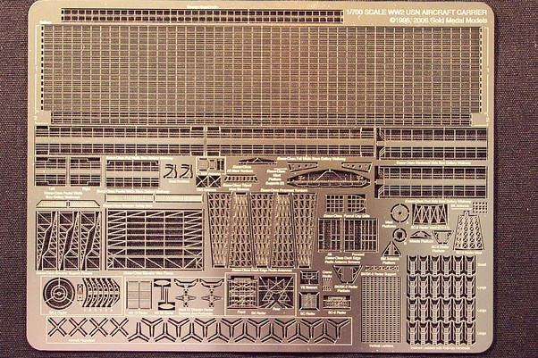 US Navy WW2 Carrier details  GM700-7
