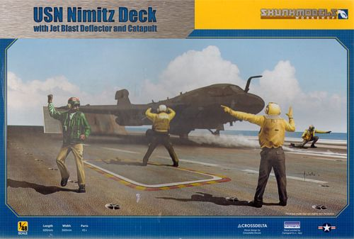 US Nimitz deck with Blast deflector and catapult  48020