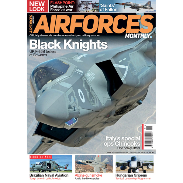 Air Forces Monthly January 2018  977095570929701
