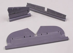 Hurricane Flying control surfaces (Hasegawa)  CEC48228