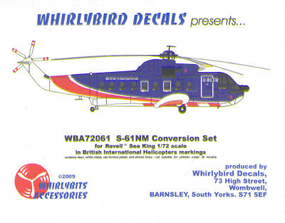Sikorsky S61NM Conversion set (British Helicopters International BHI)  WBA72061