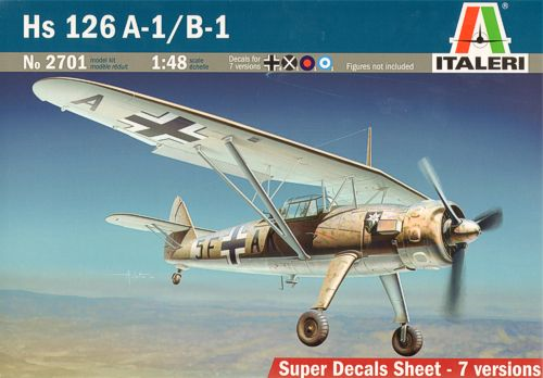 Henschel HS126A-1/B-1 (7 options)  342701