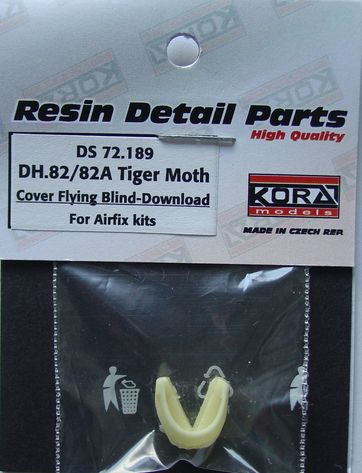 DH82a Tiger Moth Blind flying cover - folded (Airfix)  DS72189