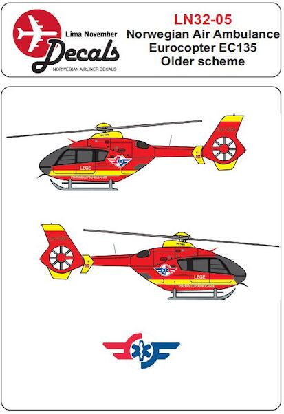 Eurocopter EC135 (Norwegian Air Ambulance old cs)  LN32-05
