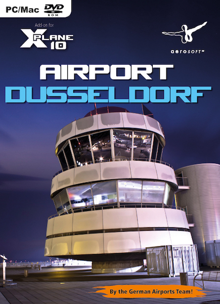Airport Dusseldorf (Add-on for XPlane10)  4015918125949