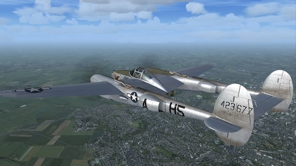 P-38L Lightning & Tacpack (Download Version) (Military Visualization  148728-D)