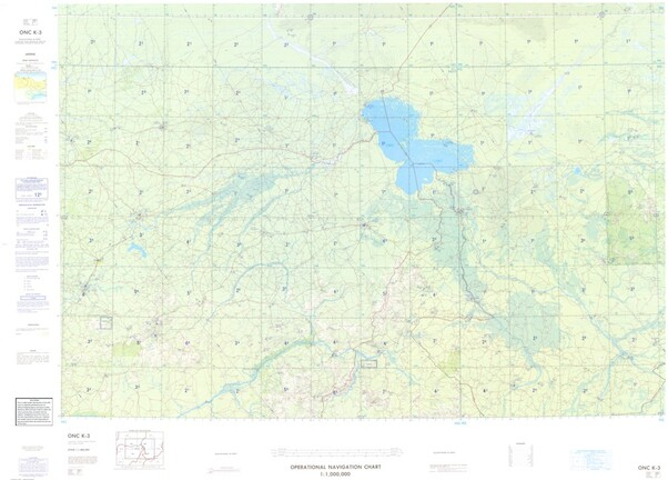 ONC K-3: Available: Operational Navigation Chart for Niger, Chad, Nigeria, Cameroon. Available ! additional charts available within five working days. E-mail your requirements.  ONC K-3