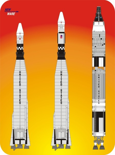 Gemini Program Launch Vehicles  NW105