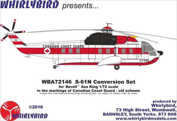 Sikorsky S61N (Canada Coast Guard)  WPX72064