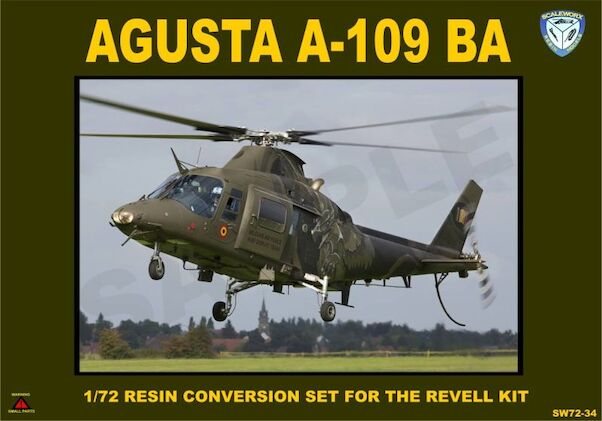Agusta  A109BA Conversion set (Belgian Army) (Revell)  (NEW STOCK IN PRODUCTION)  sw72-34