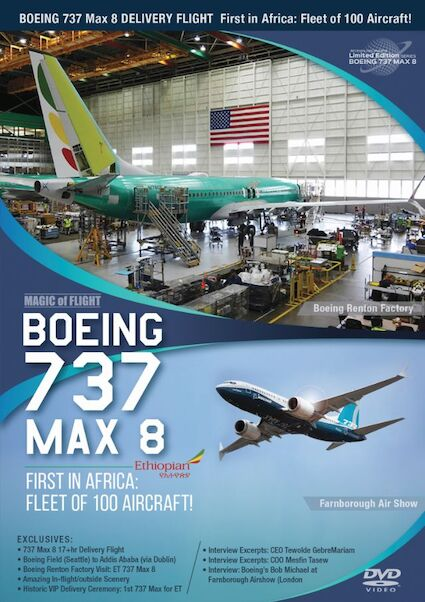 Boeing 737Max-8 Ethiopian Airlines. First in Africa; fleet of 100 aircraft  0096962101466