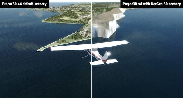 VFR Real Scenery NexGen 3D – Vol. 1: Southern England & South Wales  J3F000255-D