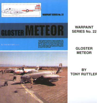 Gloster Meteor all Versions F1 to NF14 ( CD-version!!)