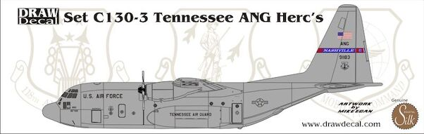 C130E Hercules (Tennessee ANG)  72-C130-3