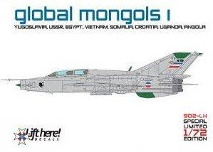 Global Mongols part I MiG-21US/UM around the world  902LH