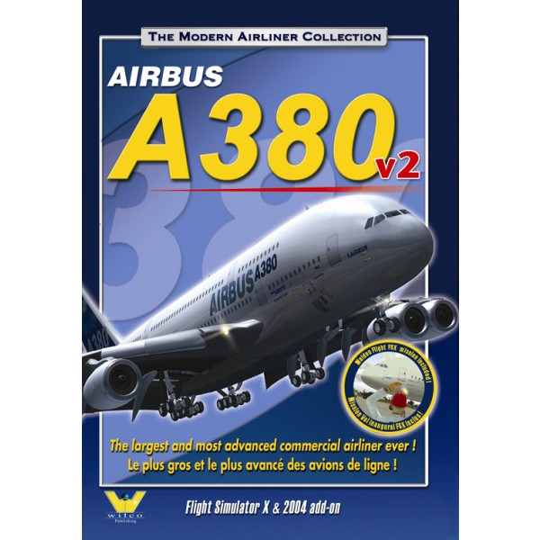Airbus A380 v2 (download version FSX) (Wilco 5060094402321-D)