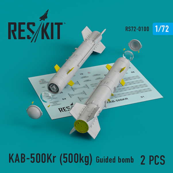 KAB-500KR (500kg Guided Bomb) (2x)  RS72-0100