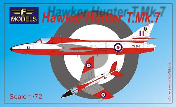Hawker Hunter T Mk.7 (RAF) for Revell  7293