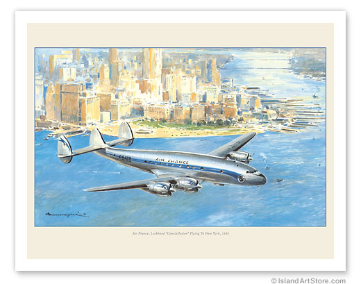 Flying to New York - Lockheed
