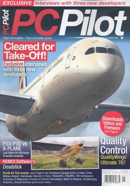 PC Pilot Magazine Jan/Feb 2018  0074470560685