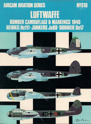 Luftwaffe Bomber Camouflage & Markings 1940 (He111,Ju88, Do17)  850450748