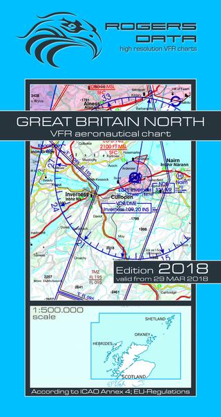 Vfr aeronautical chart great britain north 2018 vfr aeronautical chart great britain north 2018 rogers gb n sciox Images
