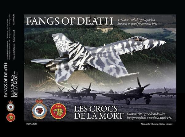 Fangs of Death: RCAF439 Sabre-Toothed Squadron  9782981155283