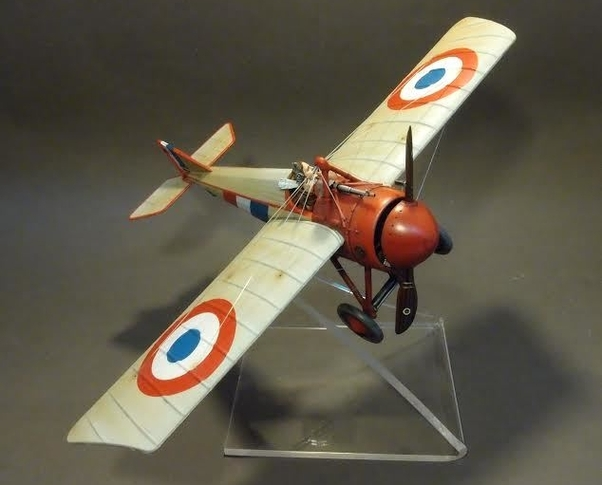 Morane-Saulnier Type N, MS 394, 1961 (Plexi stand and pilot NOT included)  ACE-18