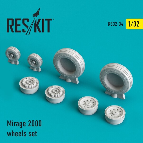 Mirage 2000 Wheel set  RS32-0034