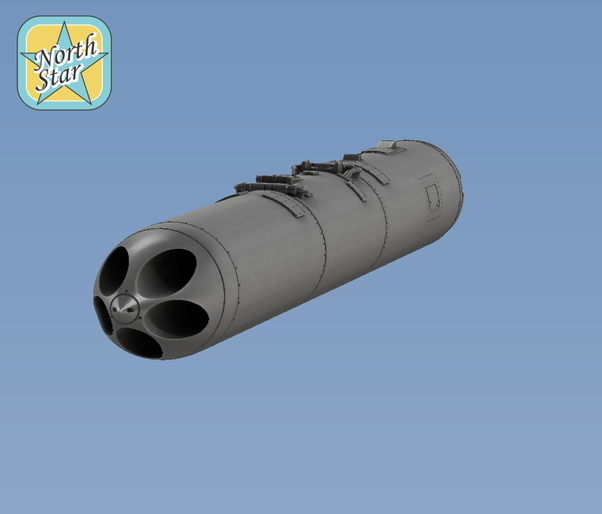 Soviet 5 tube B13L Launchers  NS32029