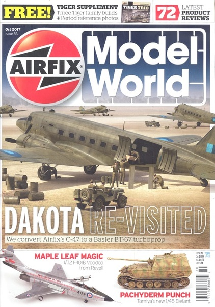 Airfix Model World Issue 83 October 2017  977204512005010