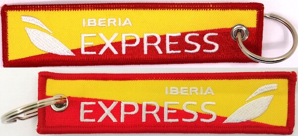 Keyholder with IBERIA EXPrESS on both sides  KEY-IB EXPRESS