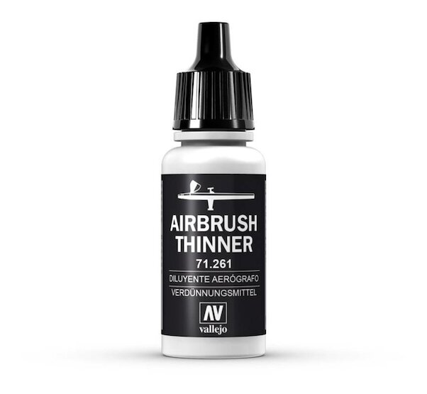 Airbrush thinner for Vallejo paints 17ml  722161