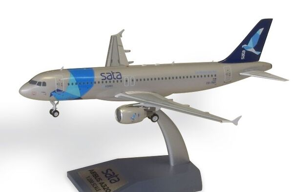 Airbus A320 SATA Fly Azores Airlines  'The Atlantic and you' CS-TKP With Stand  SATA320-02