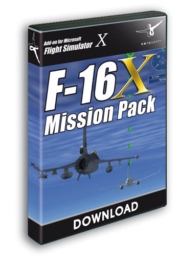 F-16 Fighting Falcon - Mission Pack ( Download version)  10874-D