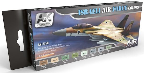 Israeli Air Force colours  AK2150