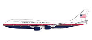 Boeing B747-8i US Air Force One proposed livery  GJAFO1913