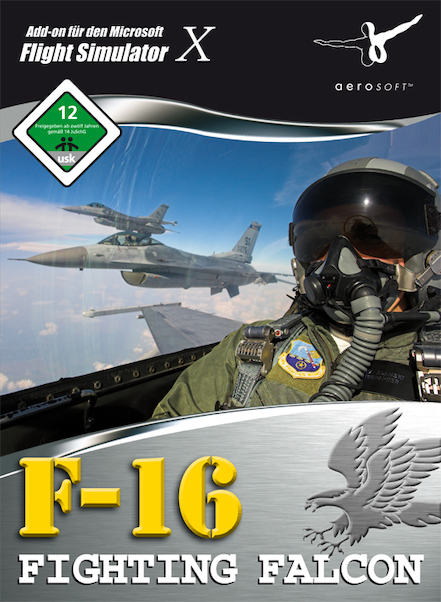 F16 Fighting Falcon ( Download version)  4015918102858-D