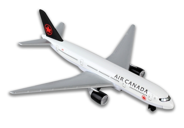 Single Plane for Airport Playset (Air Canada)  RT5884-1