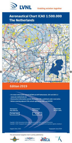 Low Countries Netherlands ICAO Edition 2019  NL-2019