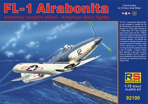 Bell FL-1 Airabonita (New stock at lower price, was euro 21,95)  RS92100