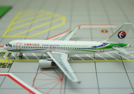A320 (China Eastern Magnificent Qinghai) B-6029  10828