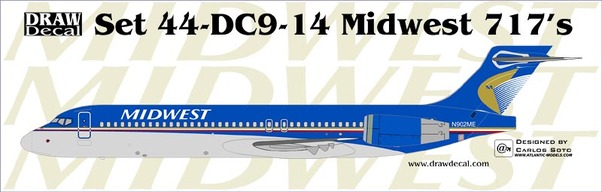 B717 (Midwest)  20-DC9-14